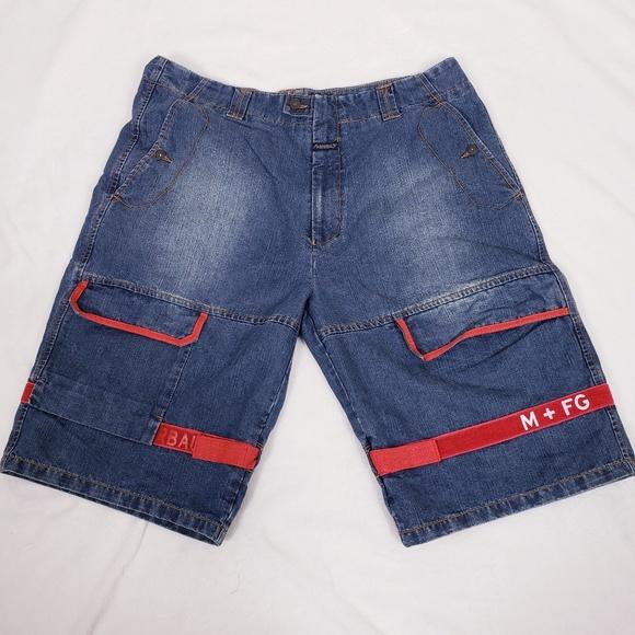 b8cac3373c Marithe Francois Girbaud shuttle strap shorts. M_5b2adf52c9bf5074cf652be0